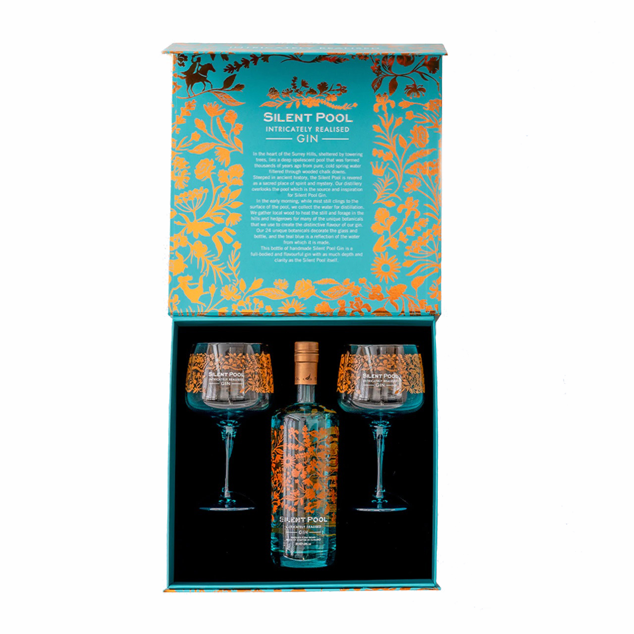 Silent Pool Gin and Copa Glass Gift Set